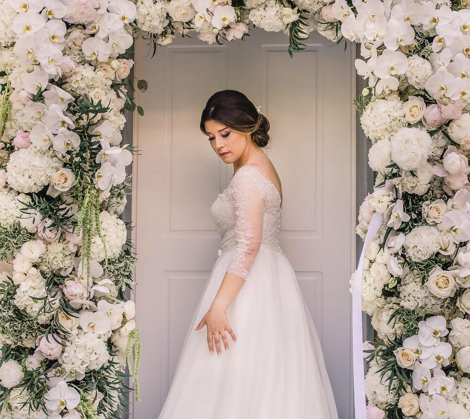 foto matrimonio floreale